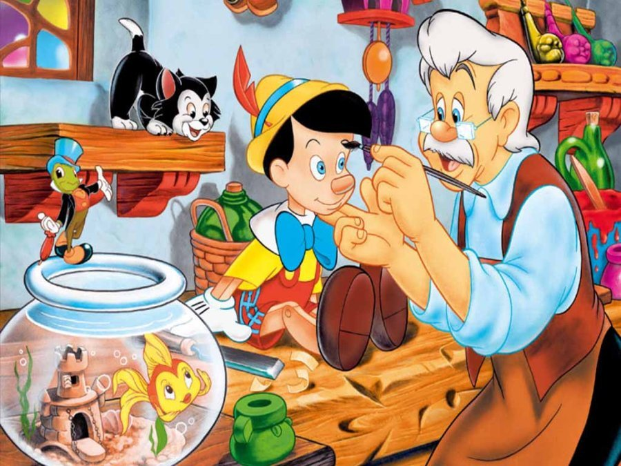 Edible Pictures Pinocchio