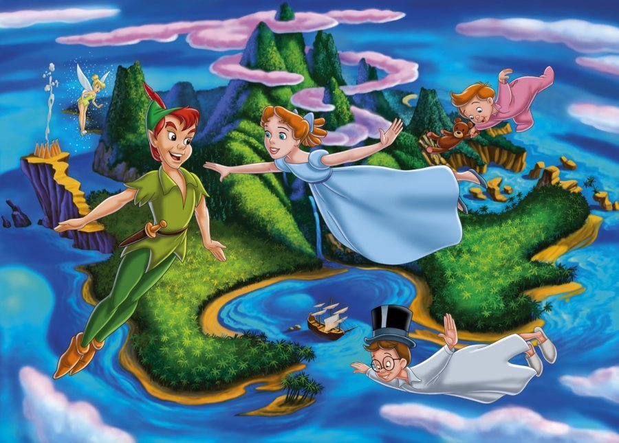 Edible Pictures Peter Pan